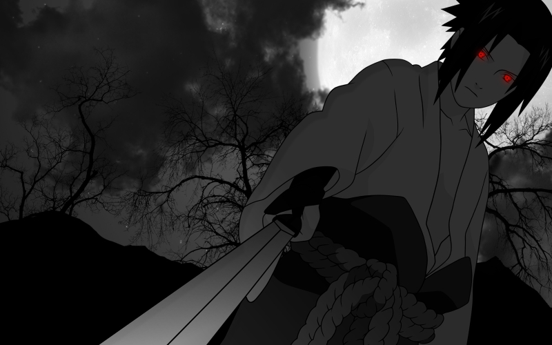 Sasuke Uchiha Shippuden Wallpapers - WallpaperPulse