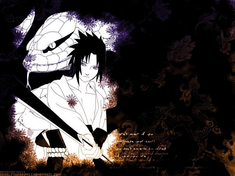 sasuke uchiha shippuden wallpaper #13