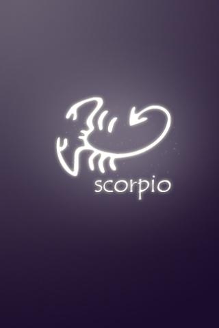 Scorpio Horoscope Wallpaper