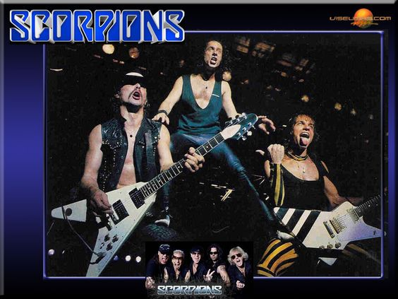 the Scorpions | Metal Band Logo Scorpions Page Wallpaper with