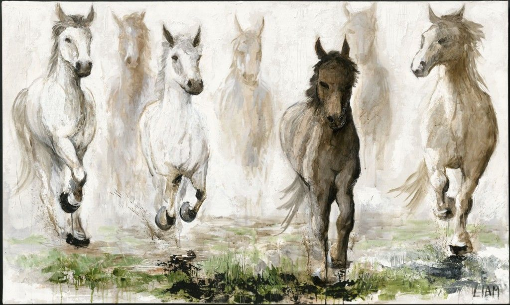 Seven Horse Wallpaper Sf Wallpaper