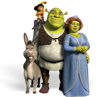 Meet the Shrek Family