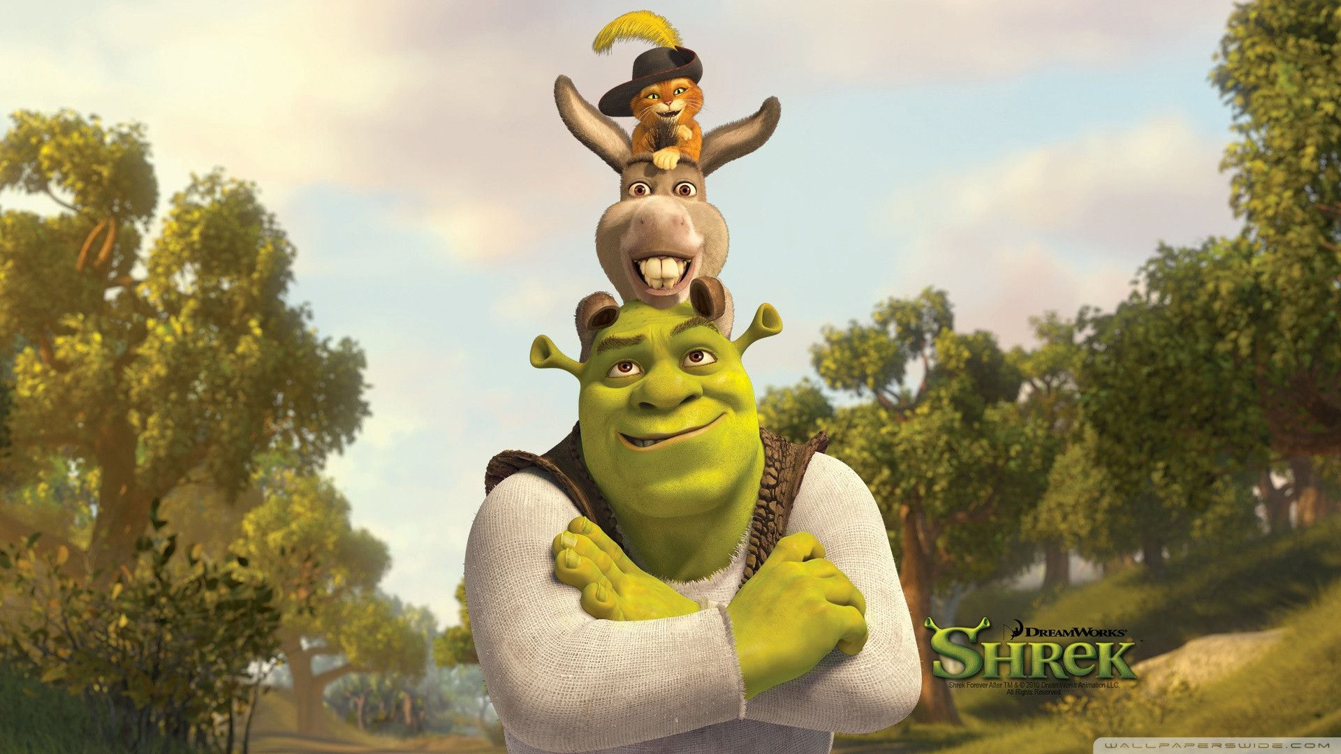 Shrek 2 Wallpapers - Wallpaper Cave