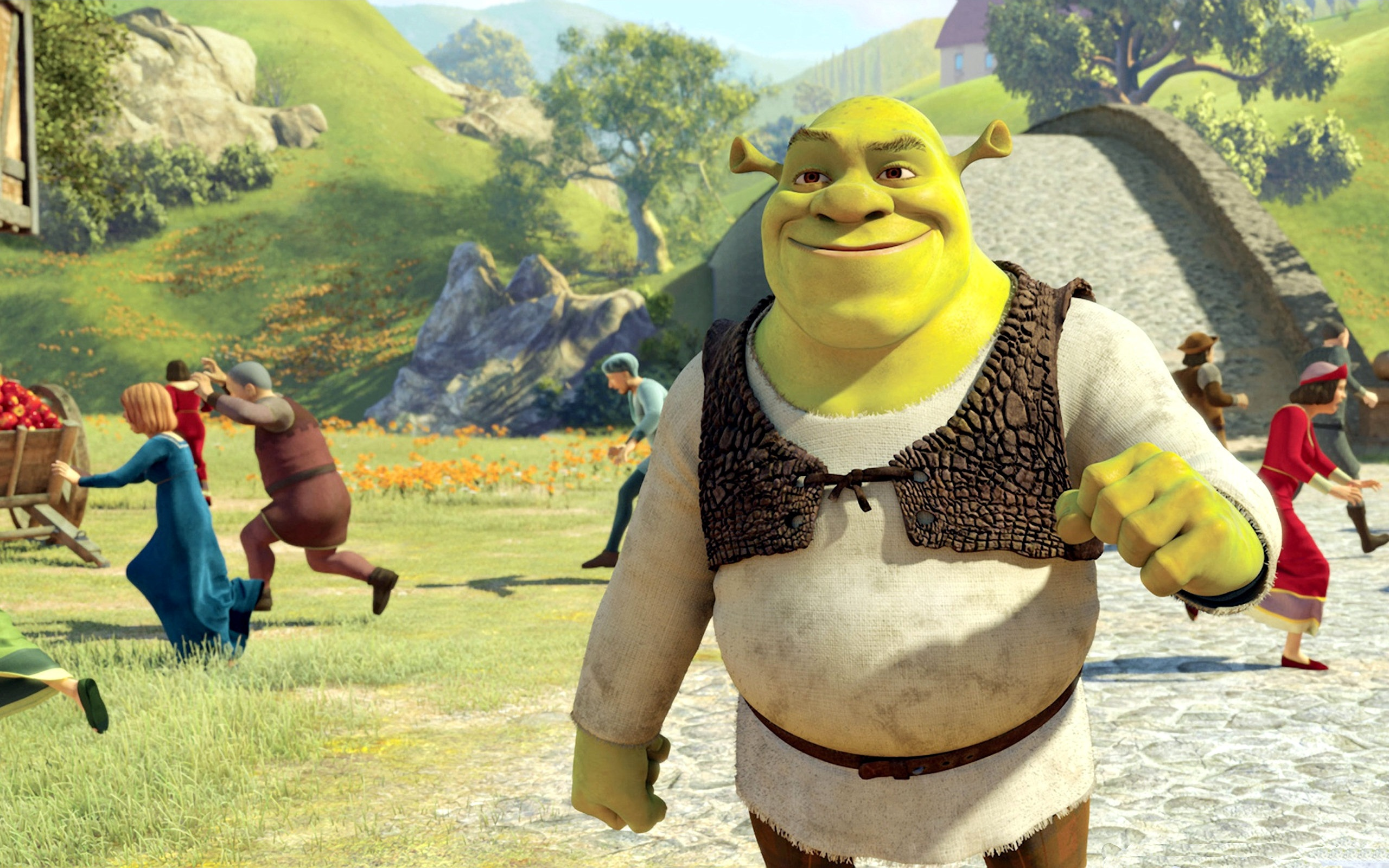 Shrek Wallpaper 4682 1920 x 1200 - WallpaperLayer com