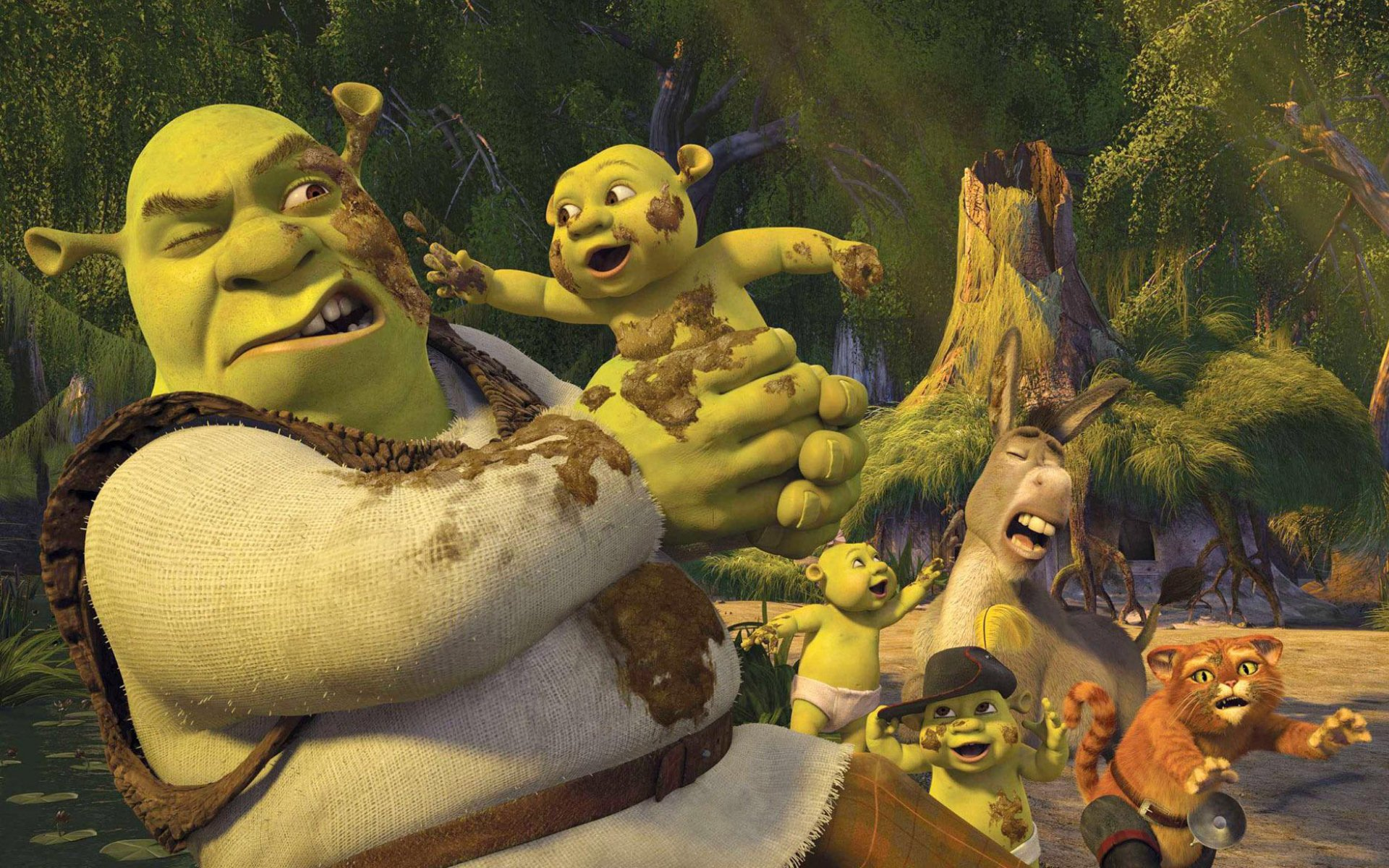 85 Shrek HD Wallpapers | Backgrounds - Wallpaper Abyss