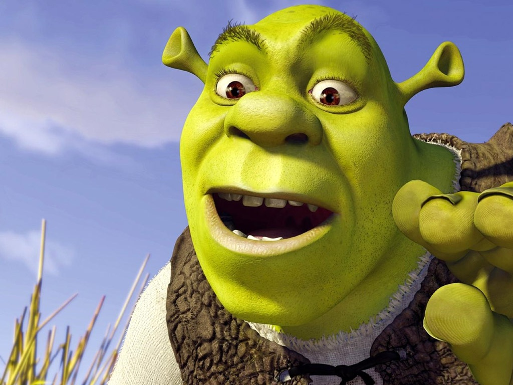 Shrek Wallpaper Number 1 (1024 x 768 Pixels)