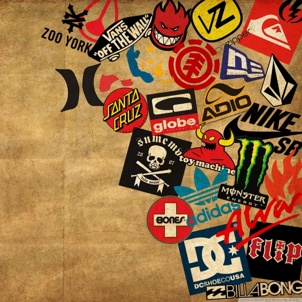 Skateboard Logos HD desktop wallpaper : Widescreen : Fullscreen