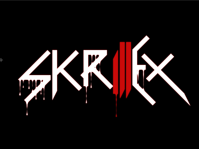 How to Create Bloody Dripping Skrillex Wallpaper | Photoshop