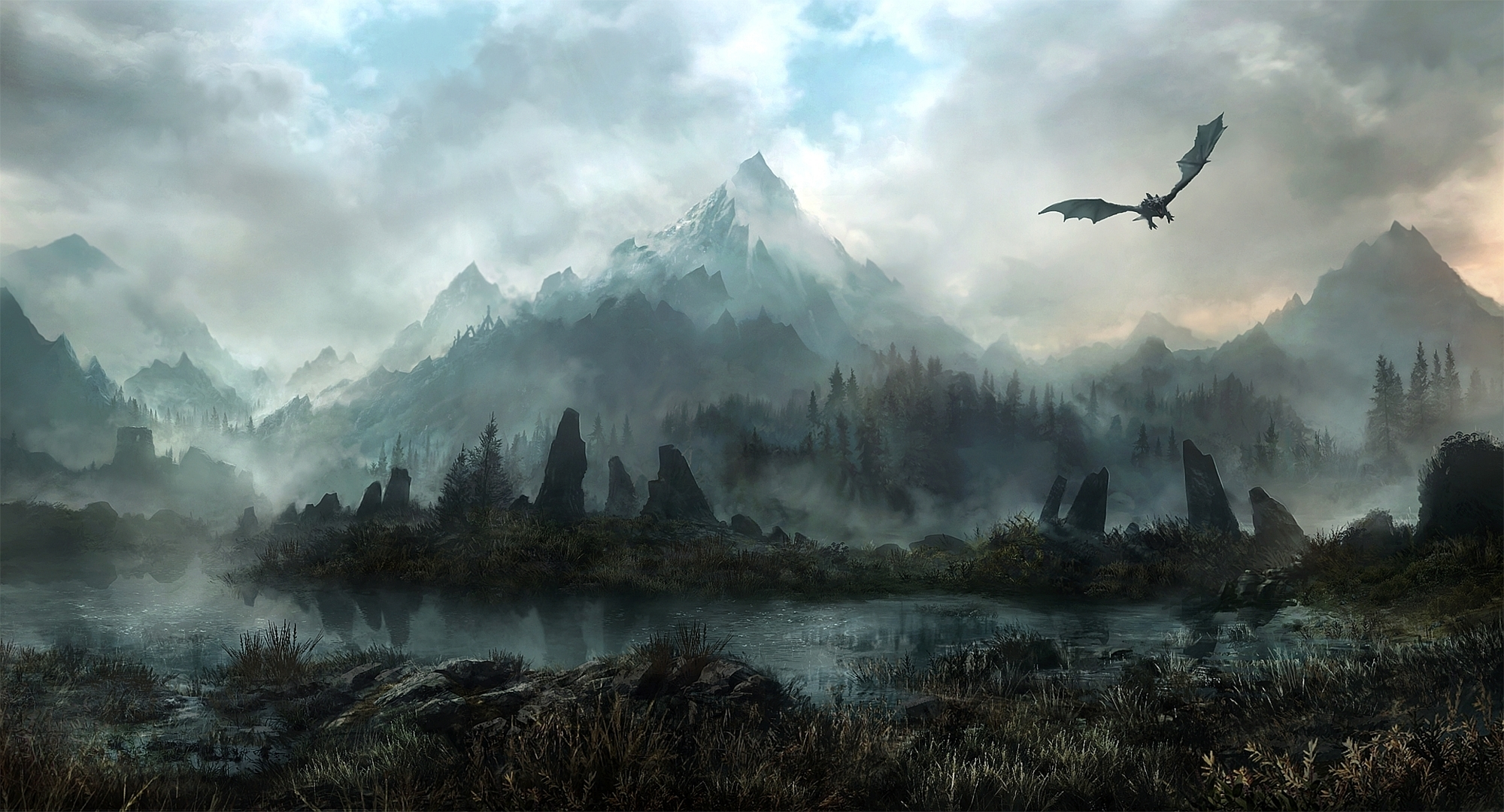 1231 The Elder Scrolls V: Skyrim HD Wallpapers | Backgrounds
