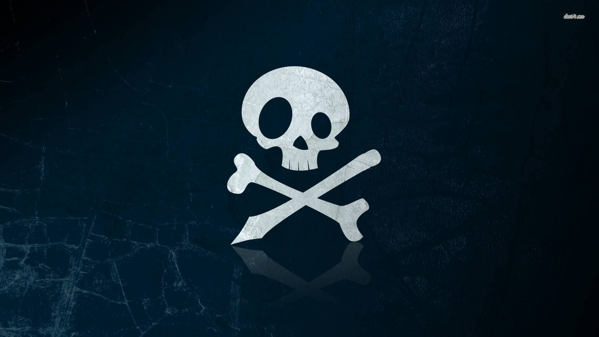 Wallpaper Of Skull And Crossbones