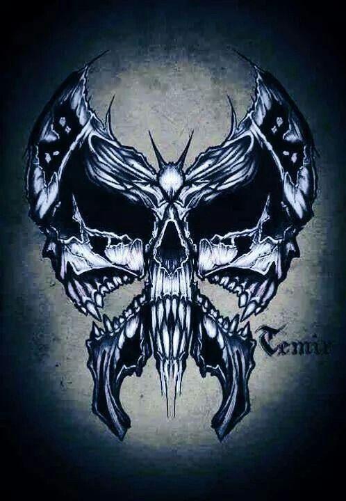 1000+ ideas about Skulls on Pinterest | Skull art, Skull decor and