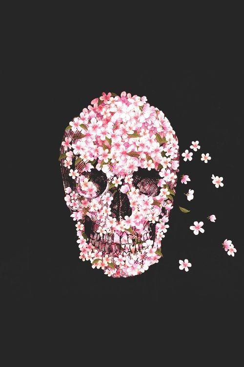 Skull wallpaper for girls - SF Wallpaper