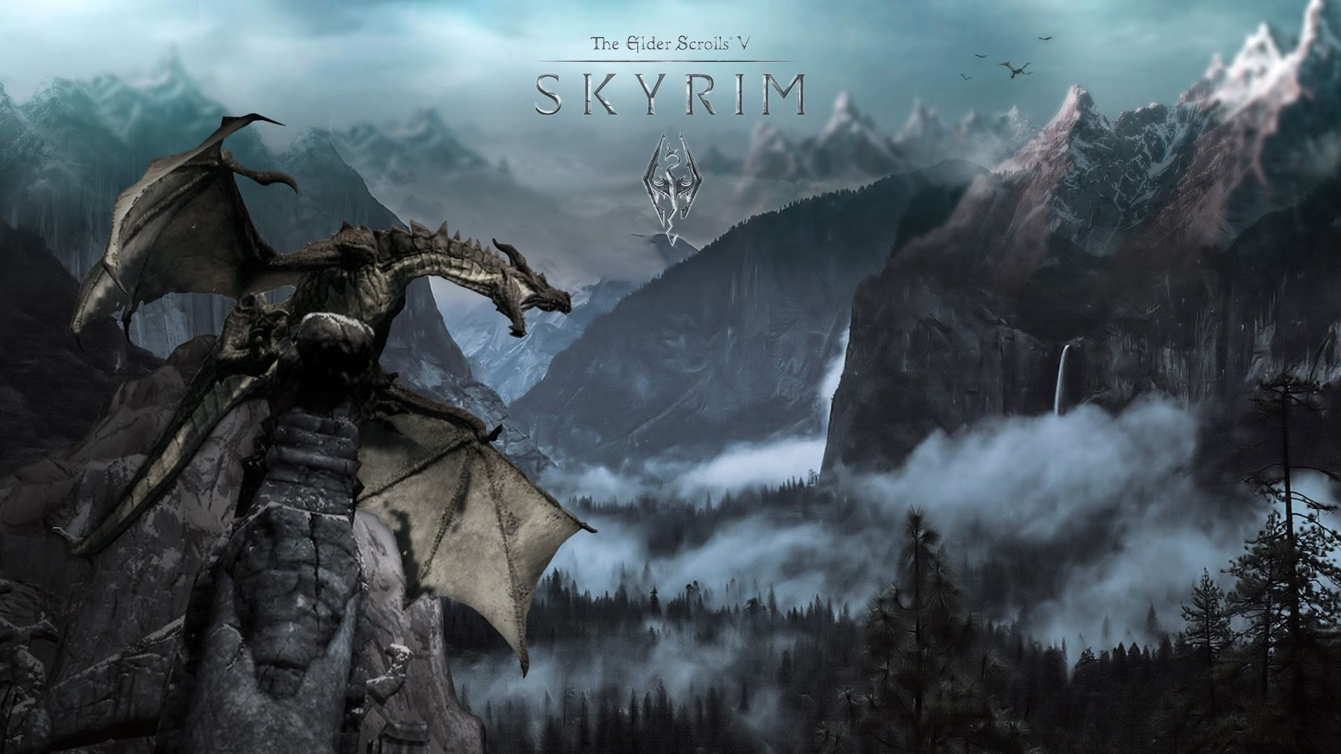 Skyrim Computer Backgrounds Group (83+)