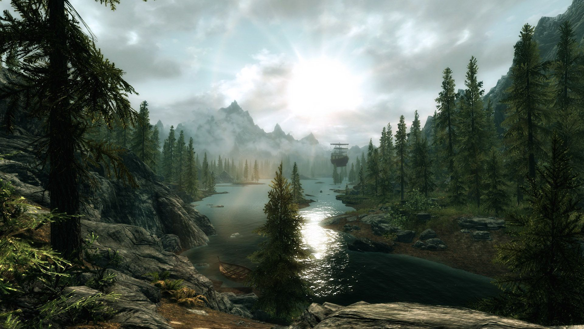 skyrim scenery wallpaper - sf wallpaper
