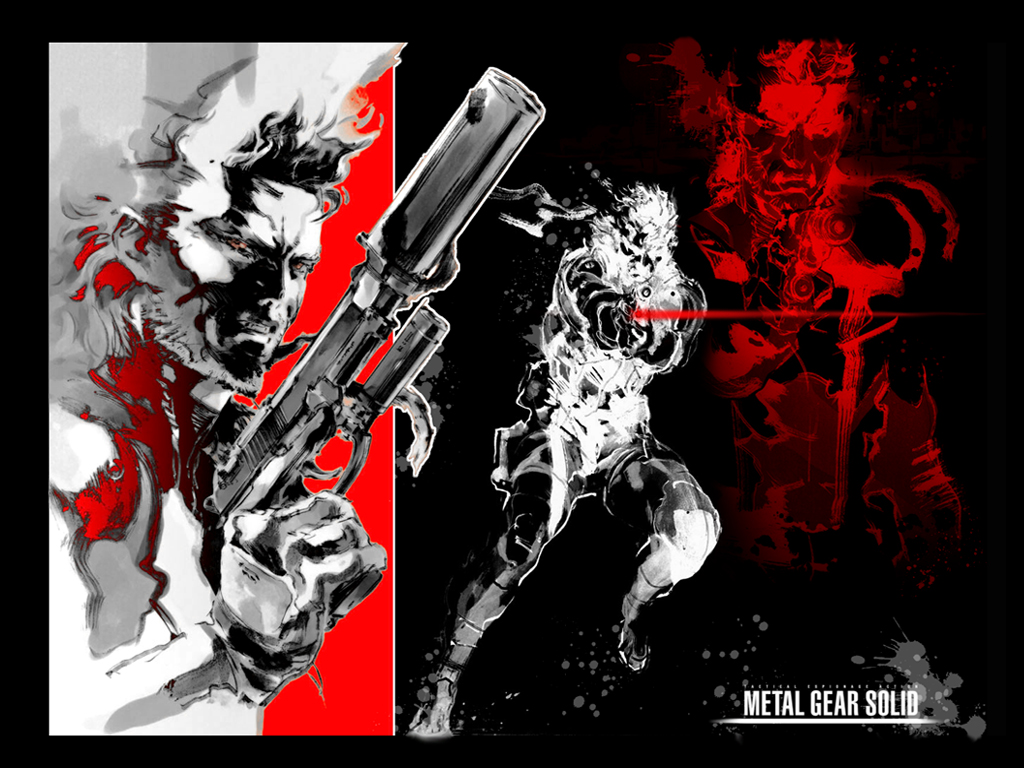 Solid Snake Wallpaper