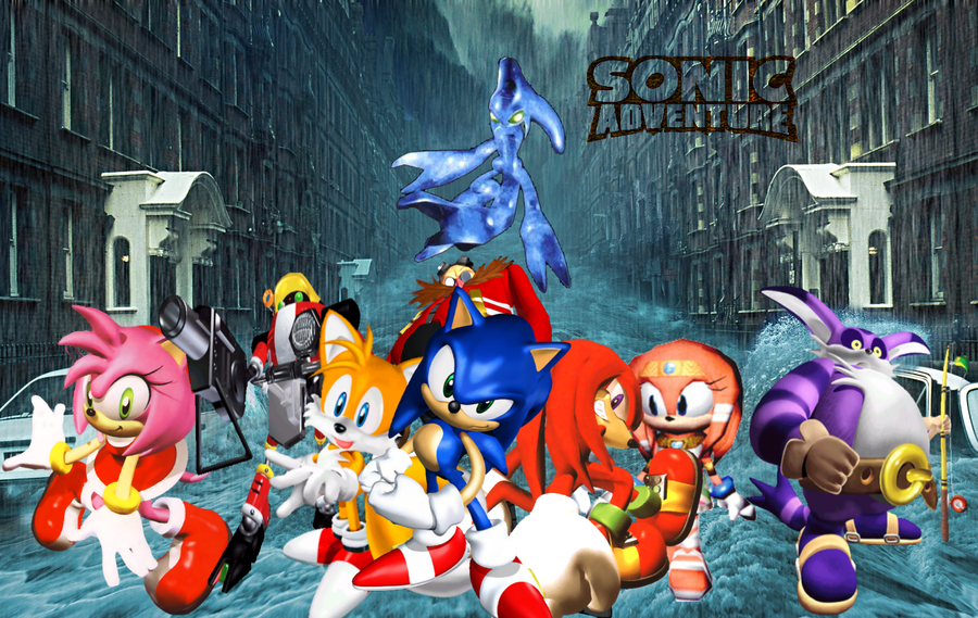 Sonic Adventure Wallpaper Sf Wallpaper
