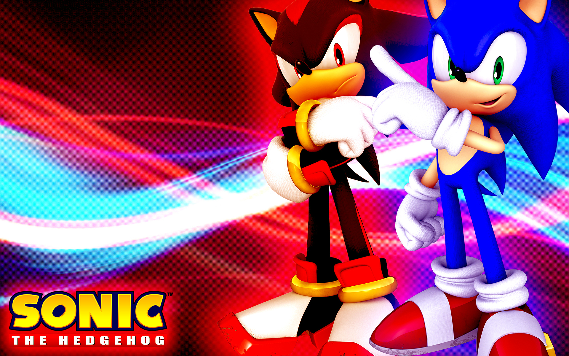 Sonic And Shadow Wallpaper Sf Wallpaper
