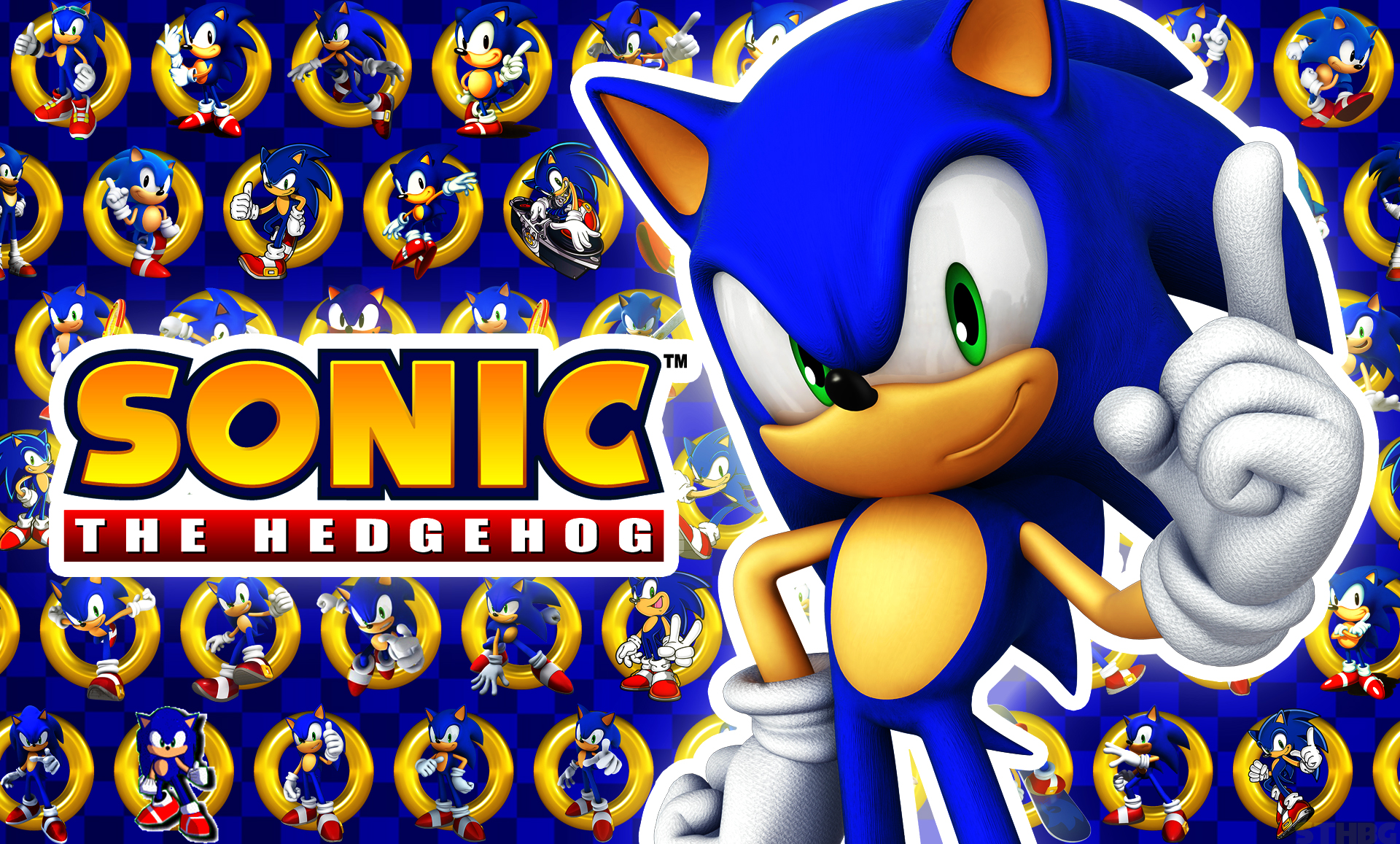 Sonic The Hedgehog - Wallpaper by SonicTheHedgehogBG on DeviantArt