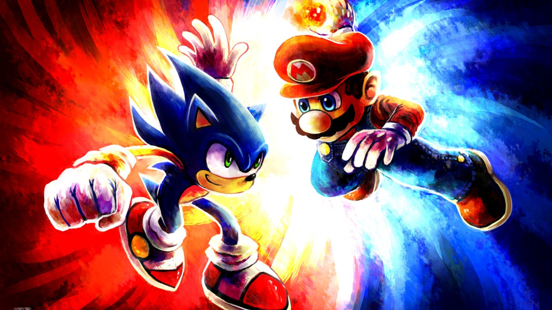 Mario And Sonic Wallpaper, PC, Laptop 50 Mario And Sonic