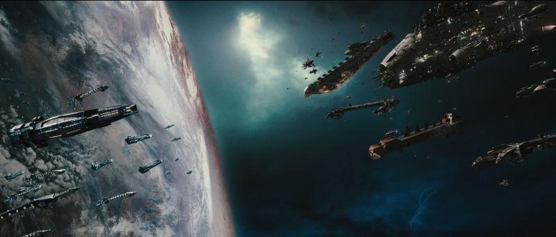 Space Battle Wallpaper Sf Wallpaper