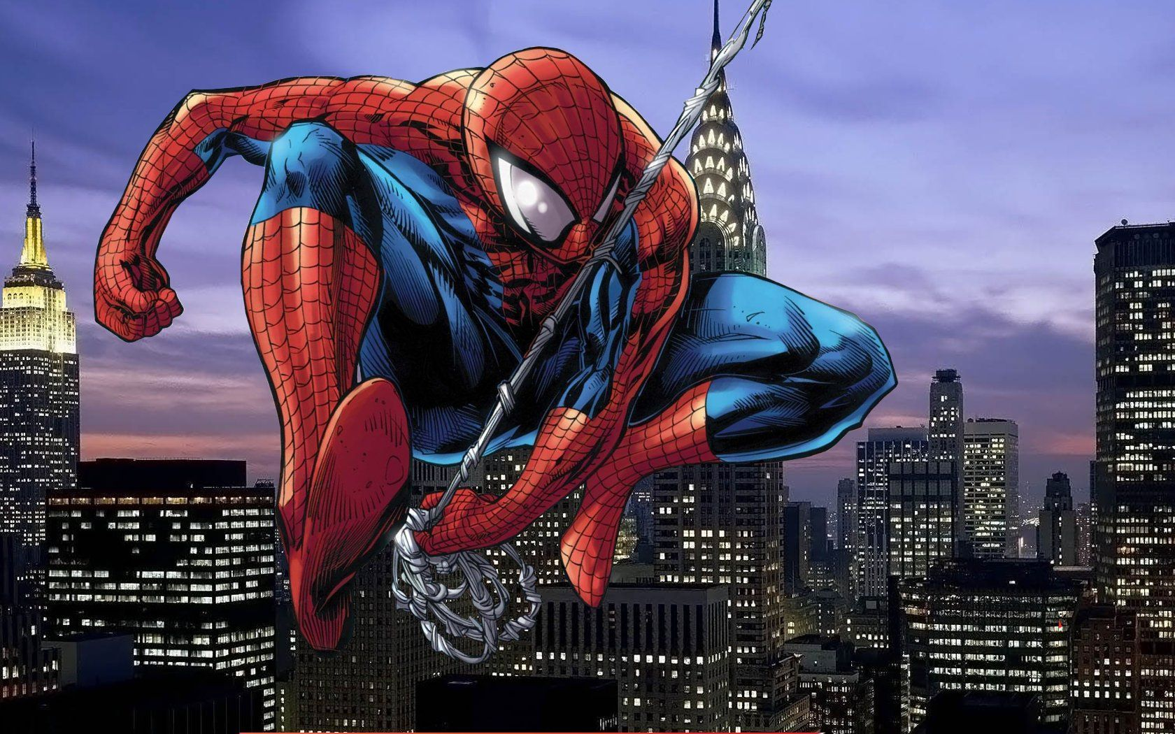 Spiderman Cartoon Wallpapers - Wallpaper Cave