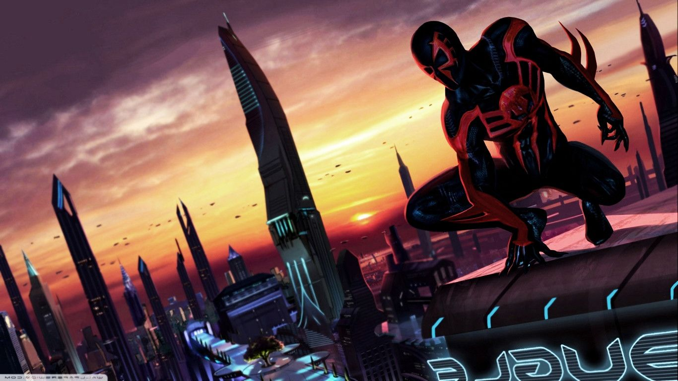 Spider Man 2099 HD Wallpaper - WallpaperSafari