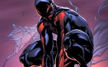 6 Spider-Man 2099 HD Wallpapers | Backgrounds - Wallpaper Abyss