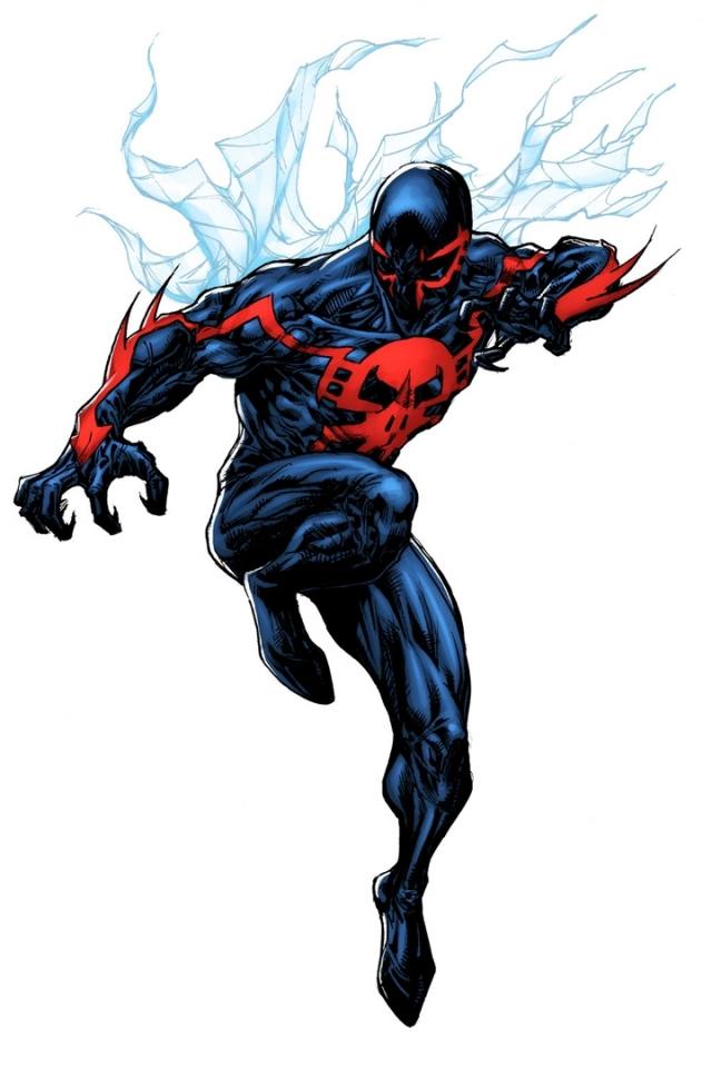 iPhone 4 - Comics/Spider-man 2099 - Wallpaper ID: 585713