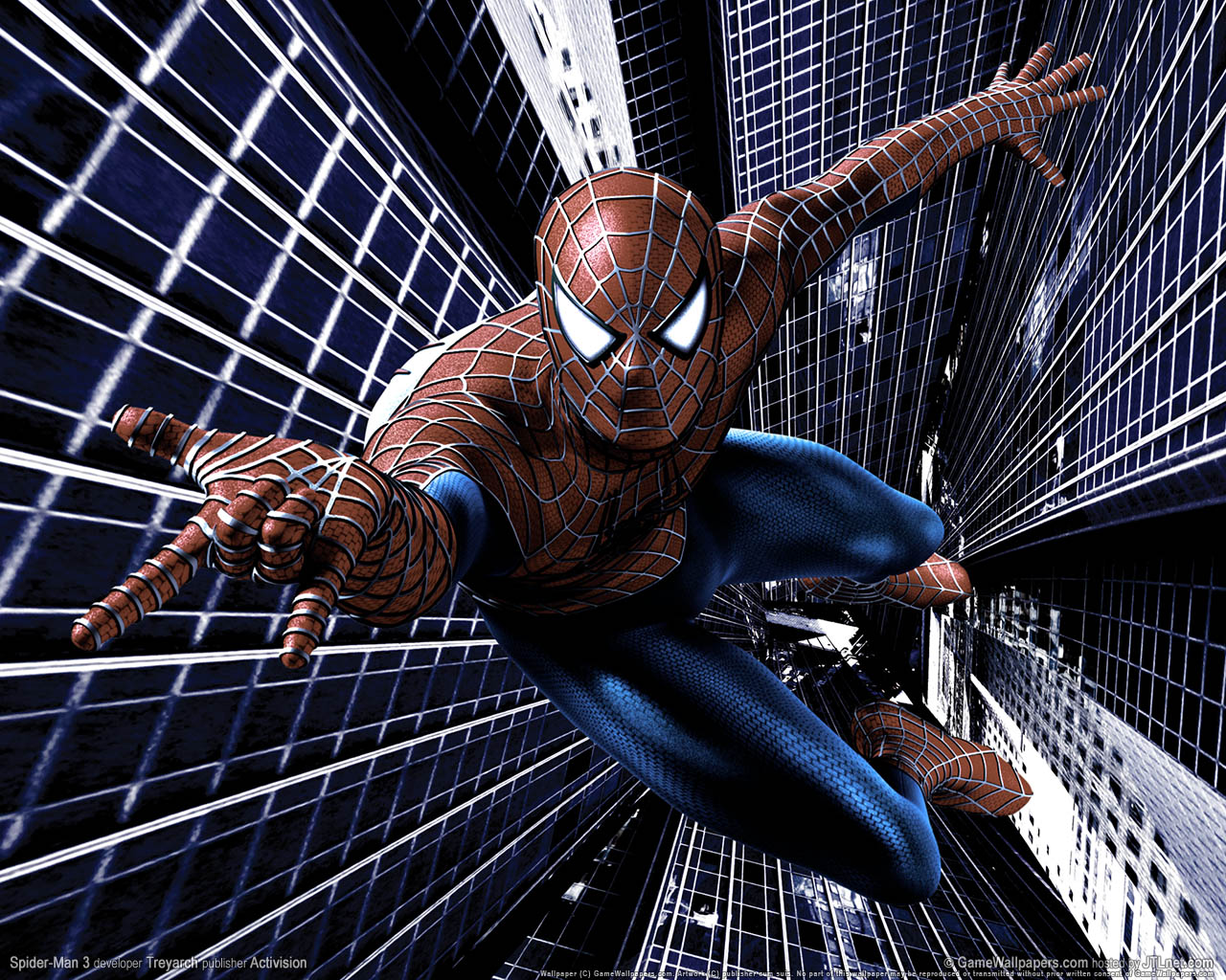 Spiderman 3D Wallpaper - WallpaperSafari