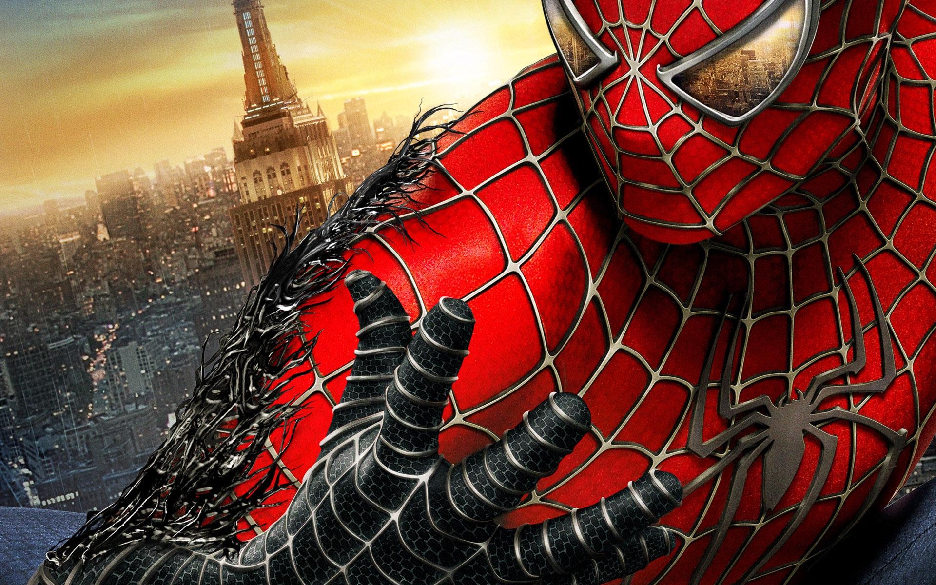Black Spider Man Background