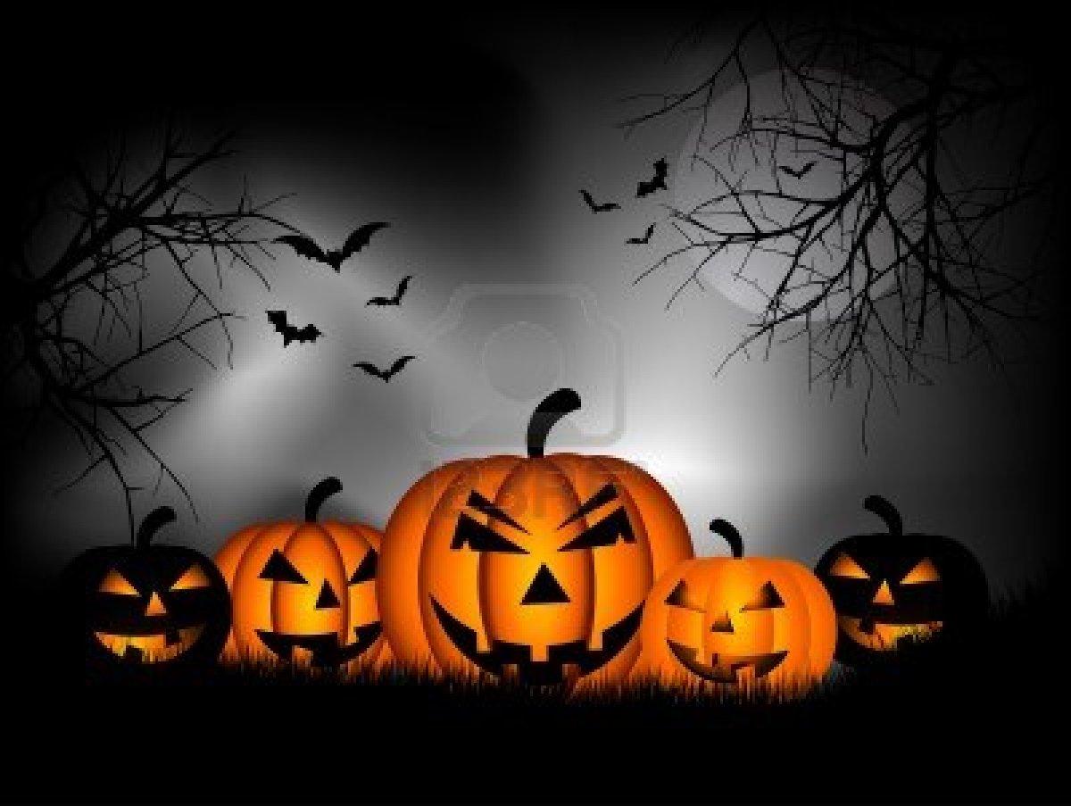 Spooky Halloween Backgrounds - WallpaperSafari