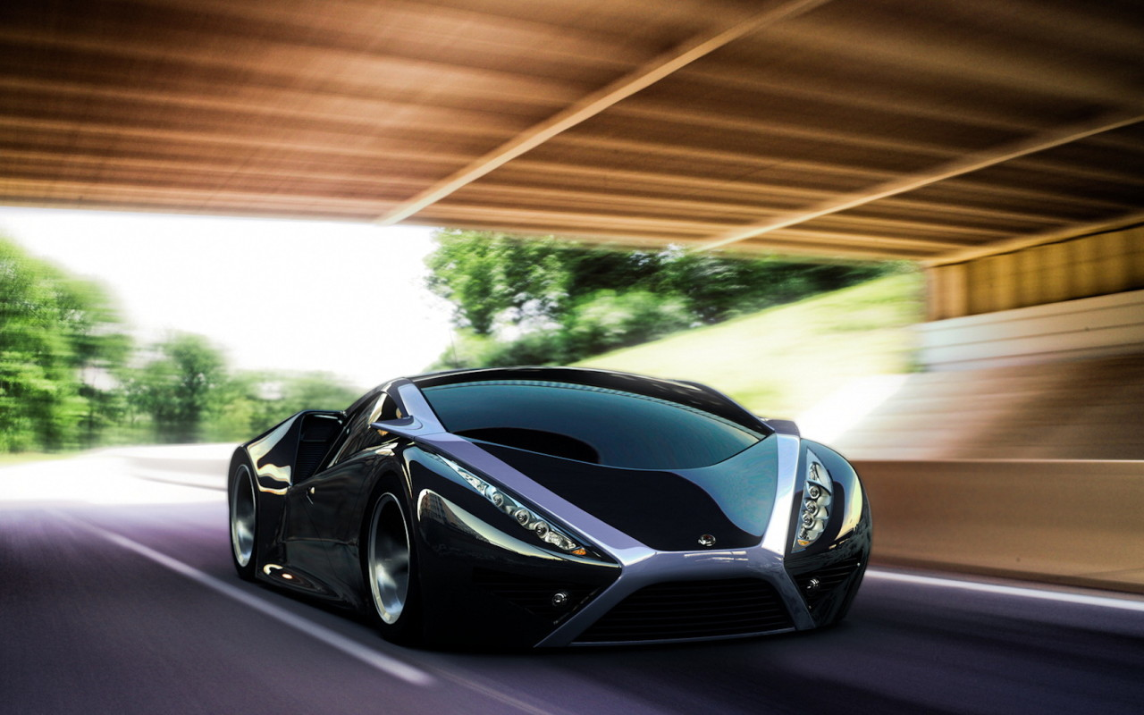 Black Sports Car Wallpaper - WallpaperSafari