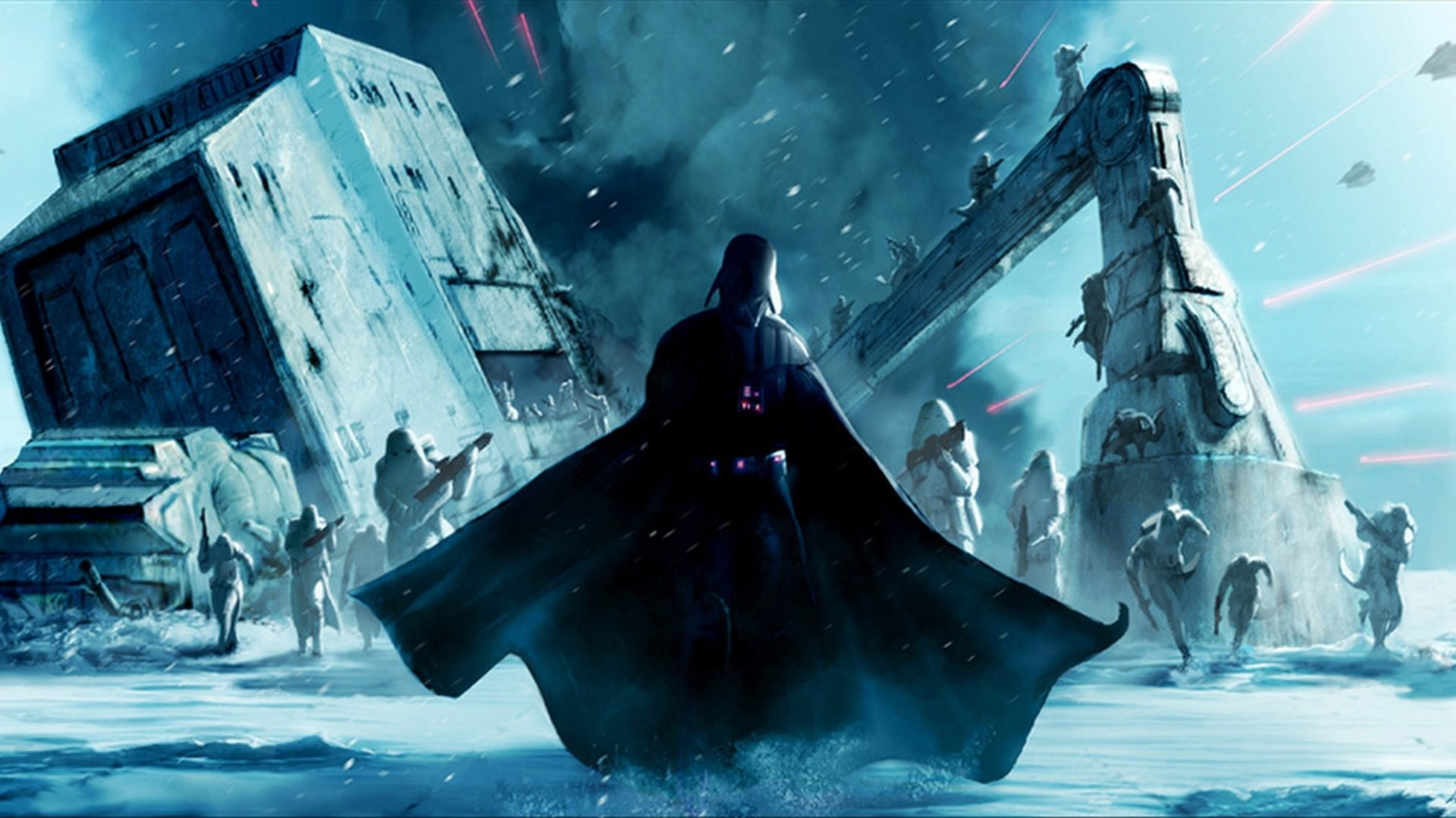 62 AT-AT Walker HD Wallpapers | Backgrounds - Wallpaper Abyss