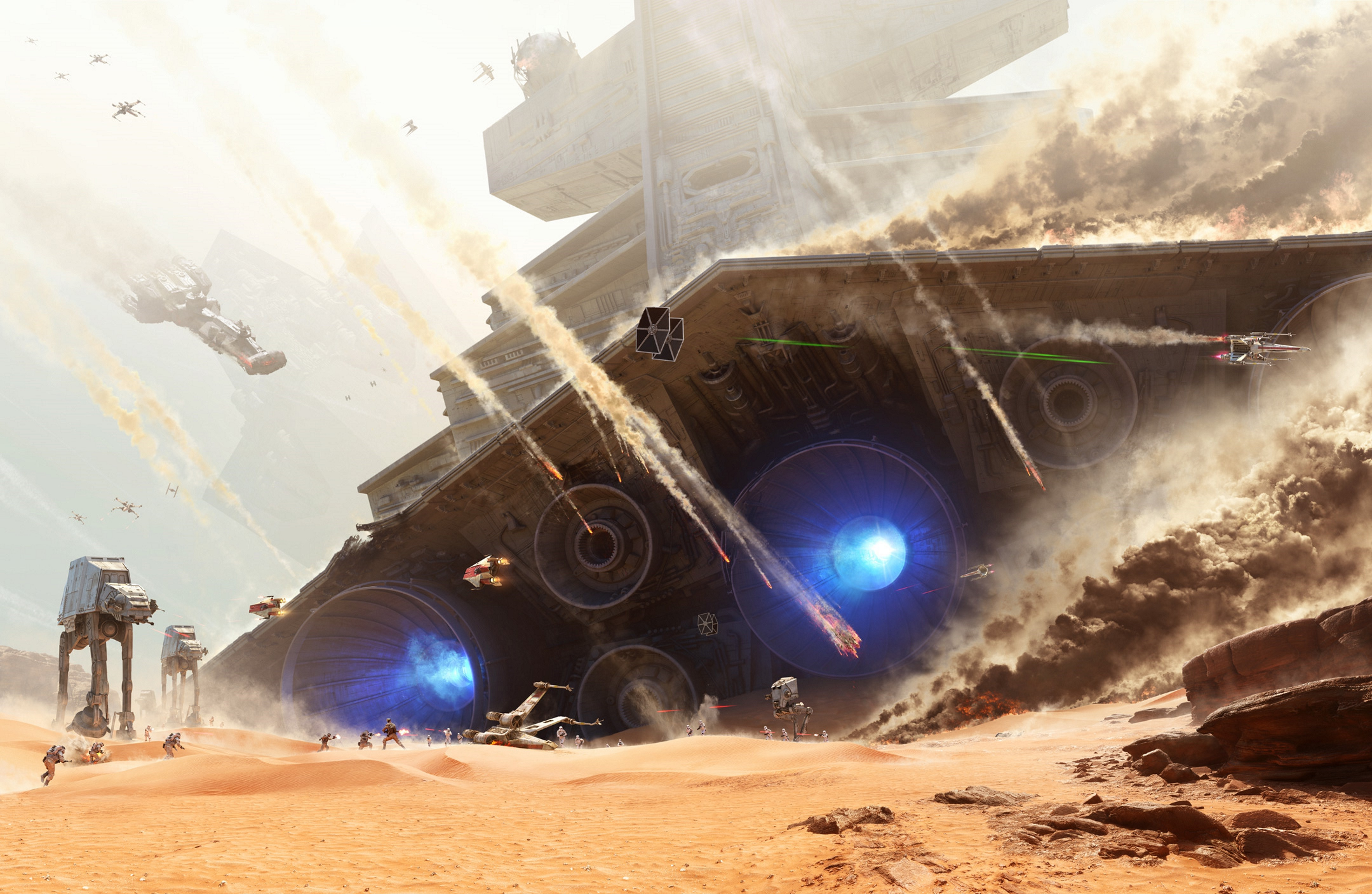 Star Wars, Star Wars: Battlefront Wallpapers HD / Desktop and