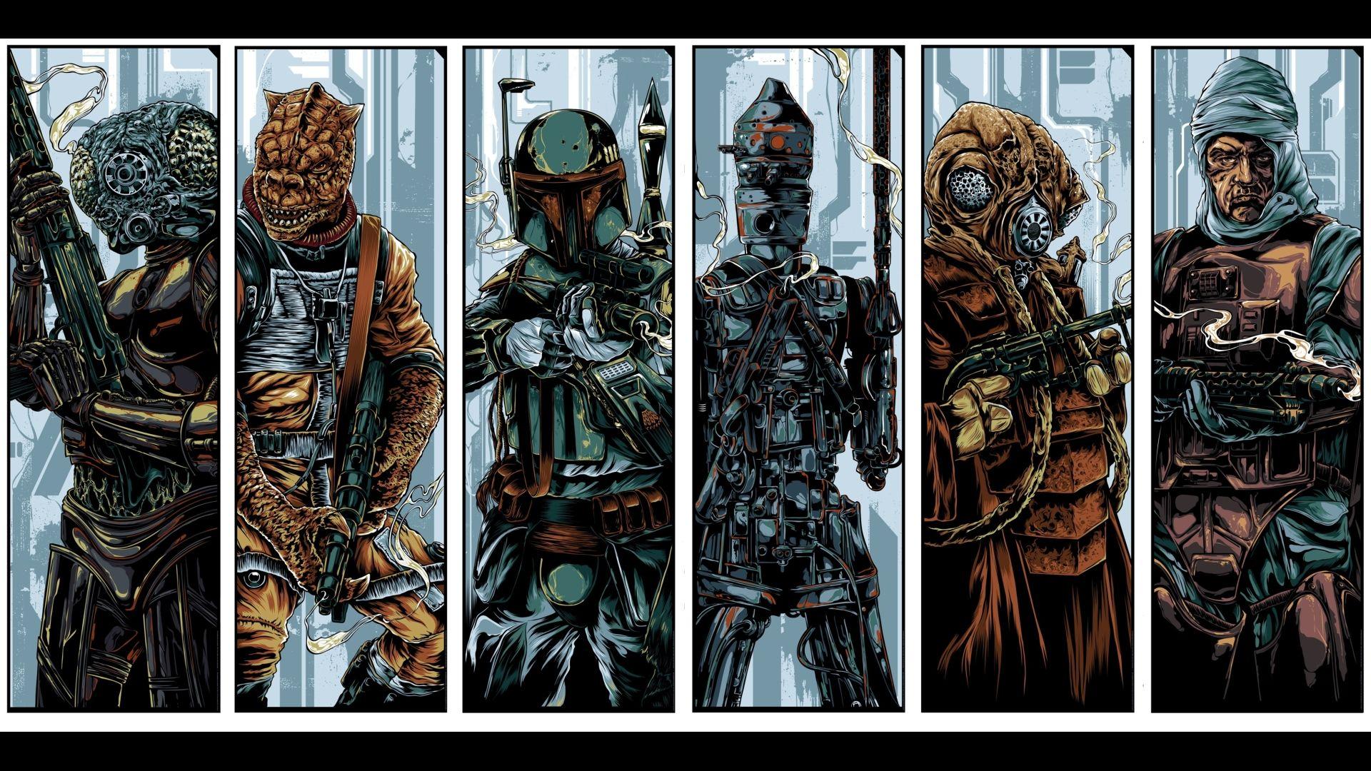 Boba Fett Bounty Hunter Star Wars