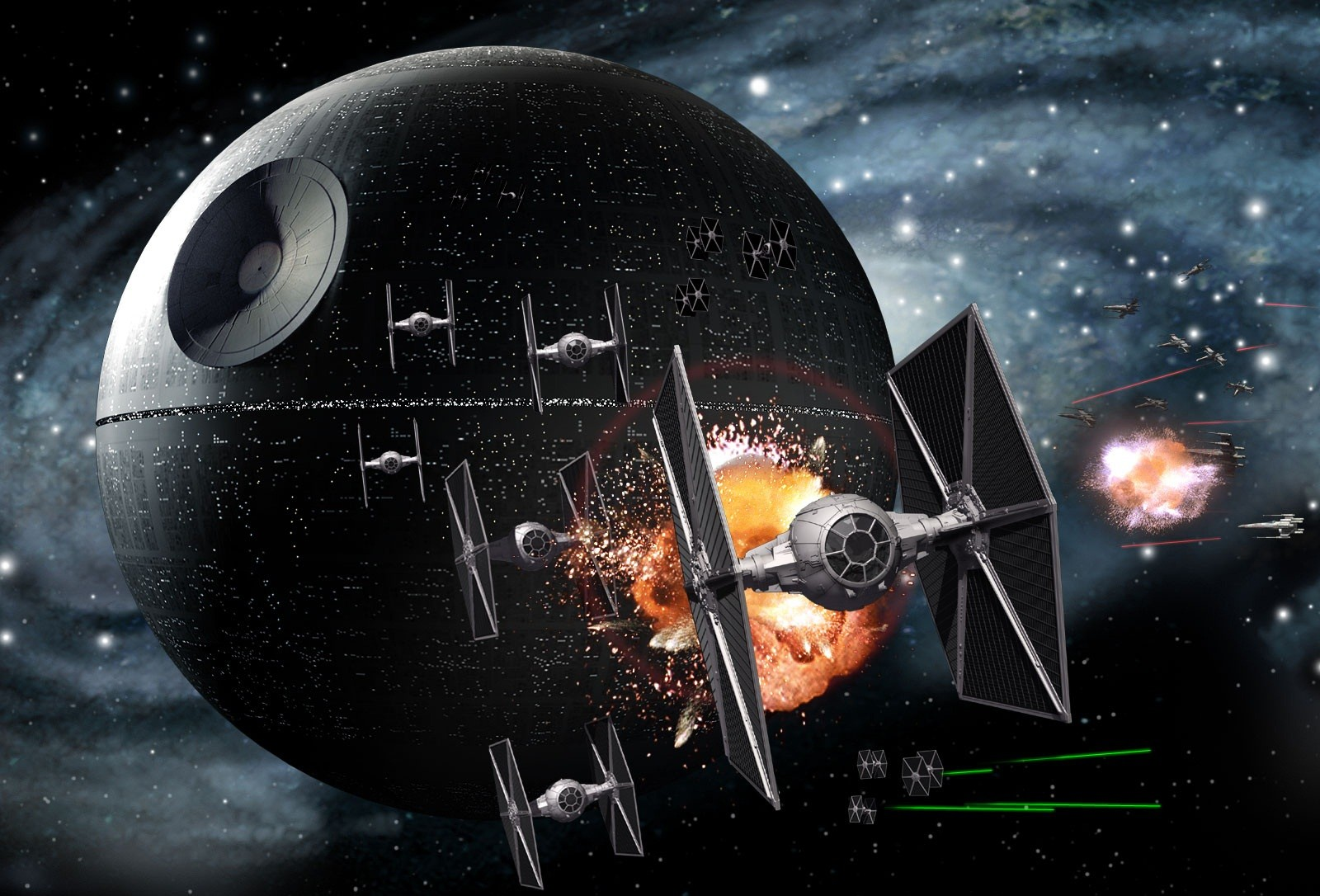 HD Star Wars Desktop Wallpaper - WallpaperSafari