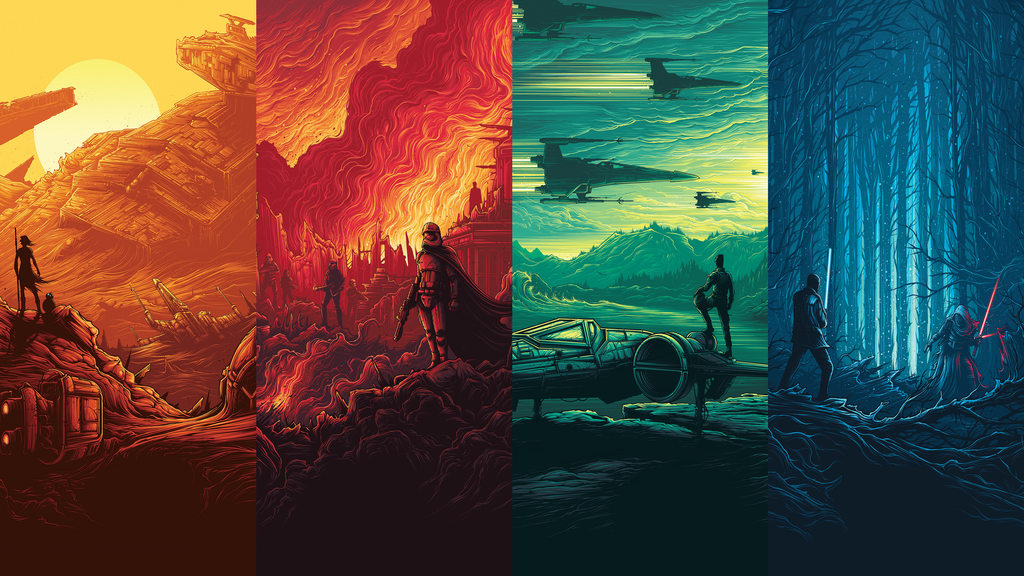 Wallpapers I made of those epic Imax Star Wars posters - Album on