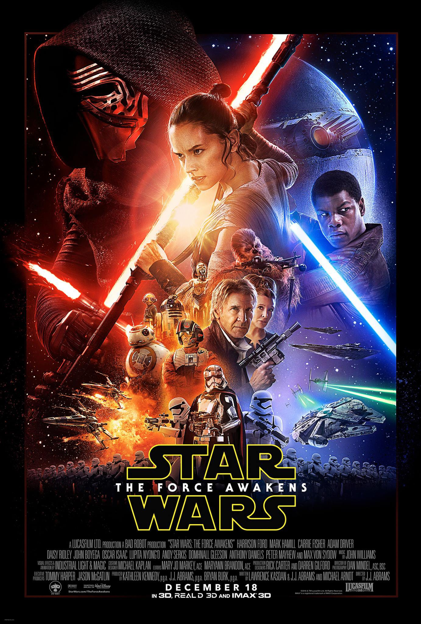 All Movie Posters and Prints for Star Wars: The Force Awakens