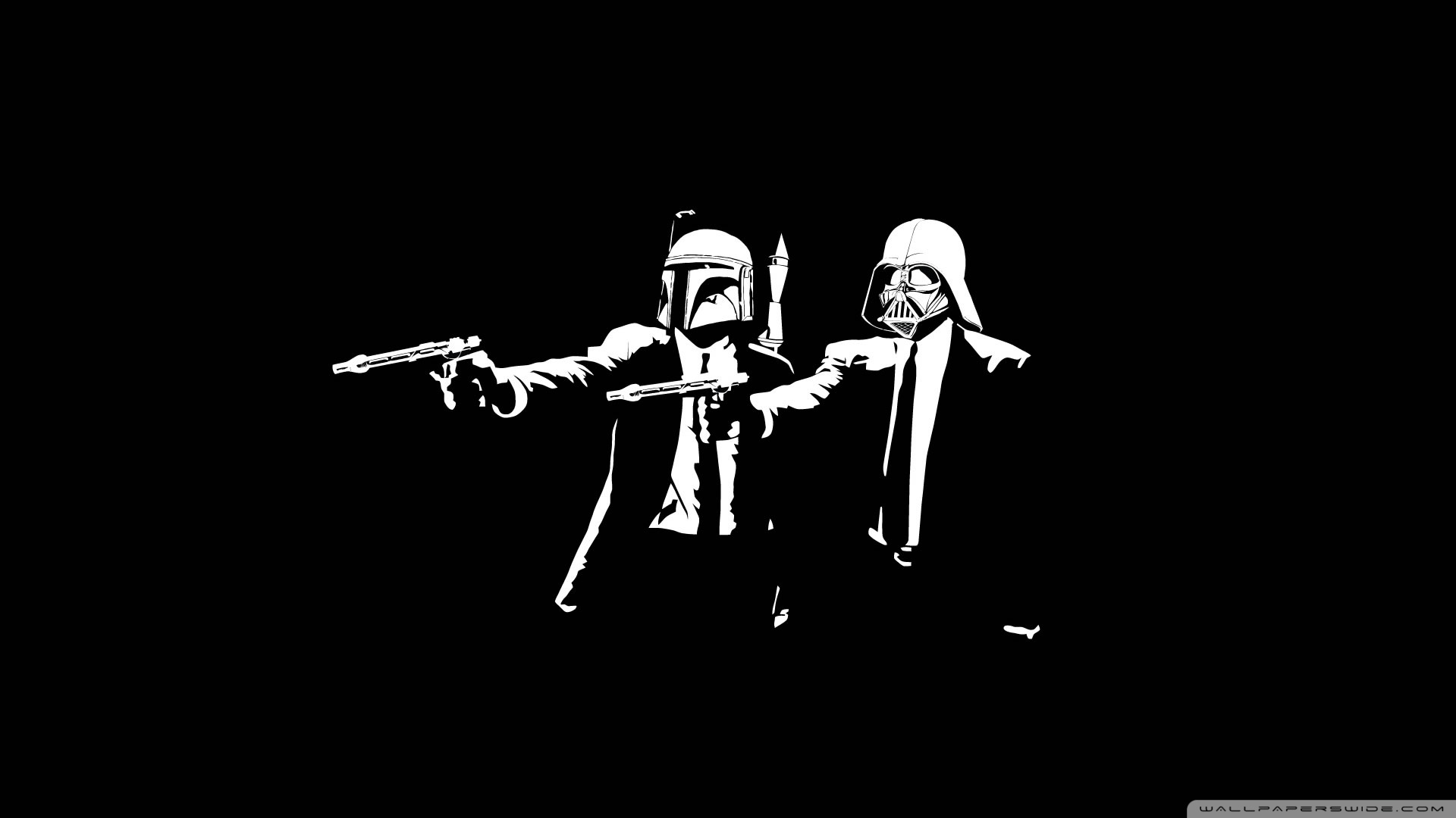 Star Wars Pulp Fiction HD desktop wallpaper : High Definition