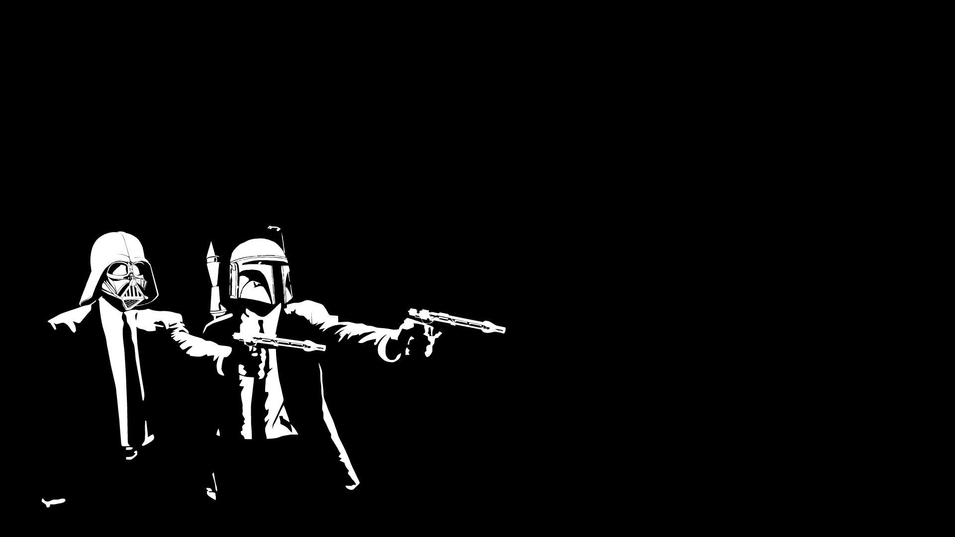Star Wars Pulp Fiction Wallpaper - WallpaperSafari