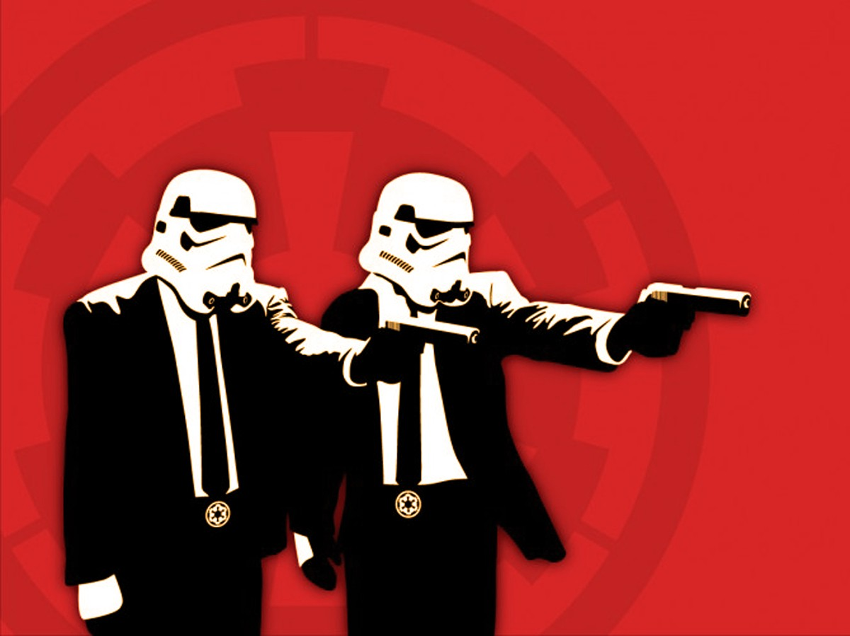 humor, Star Wars, Pulp Fiction, Pulp Fiction (parody