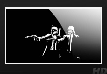 Pulp Fiction As Star Wars Cool Wallpaper 1920x1080 HD Wallpaper Movies
