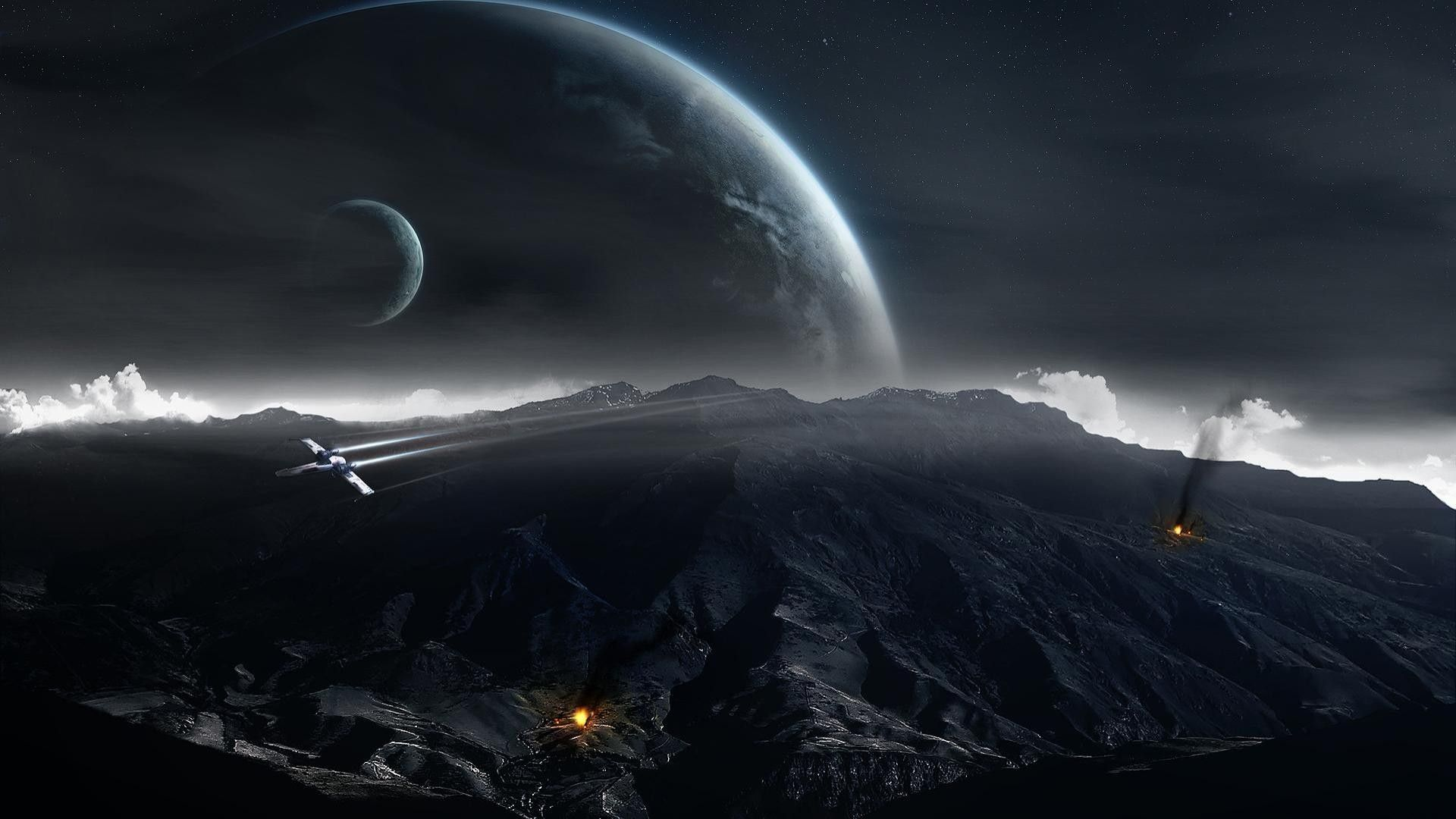 Star Wars Space Wallpaper Sf Wallpaper