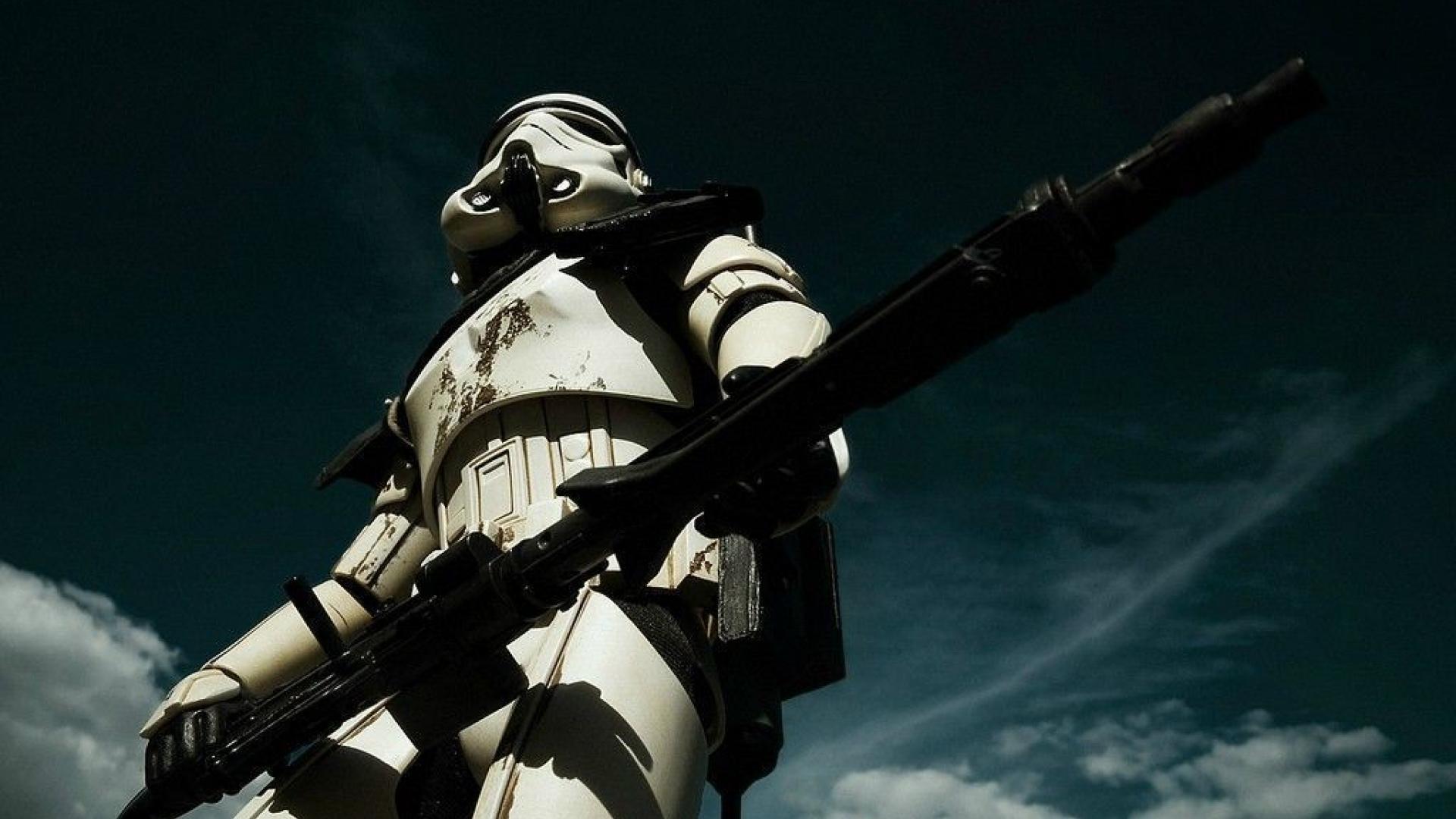 Star Wars Trooper Wallpaper Sf Wallpaper