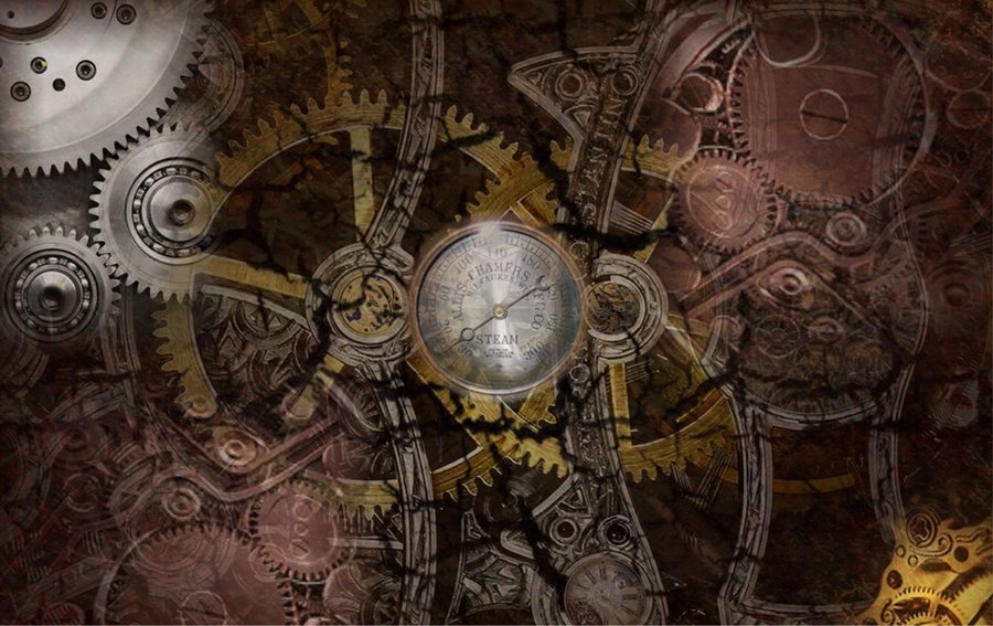 30 awesome steampunk wallpapers | Top Design Magazine - Web Design