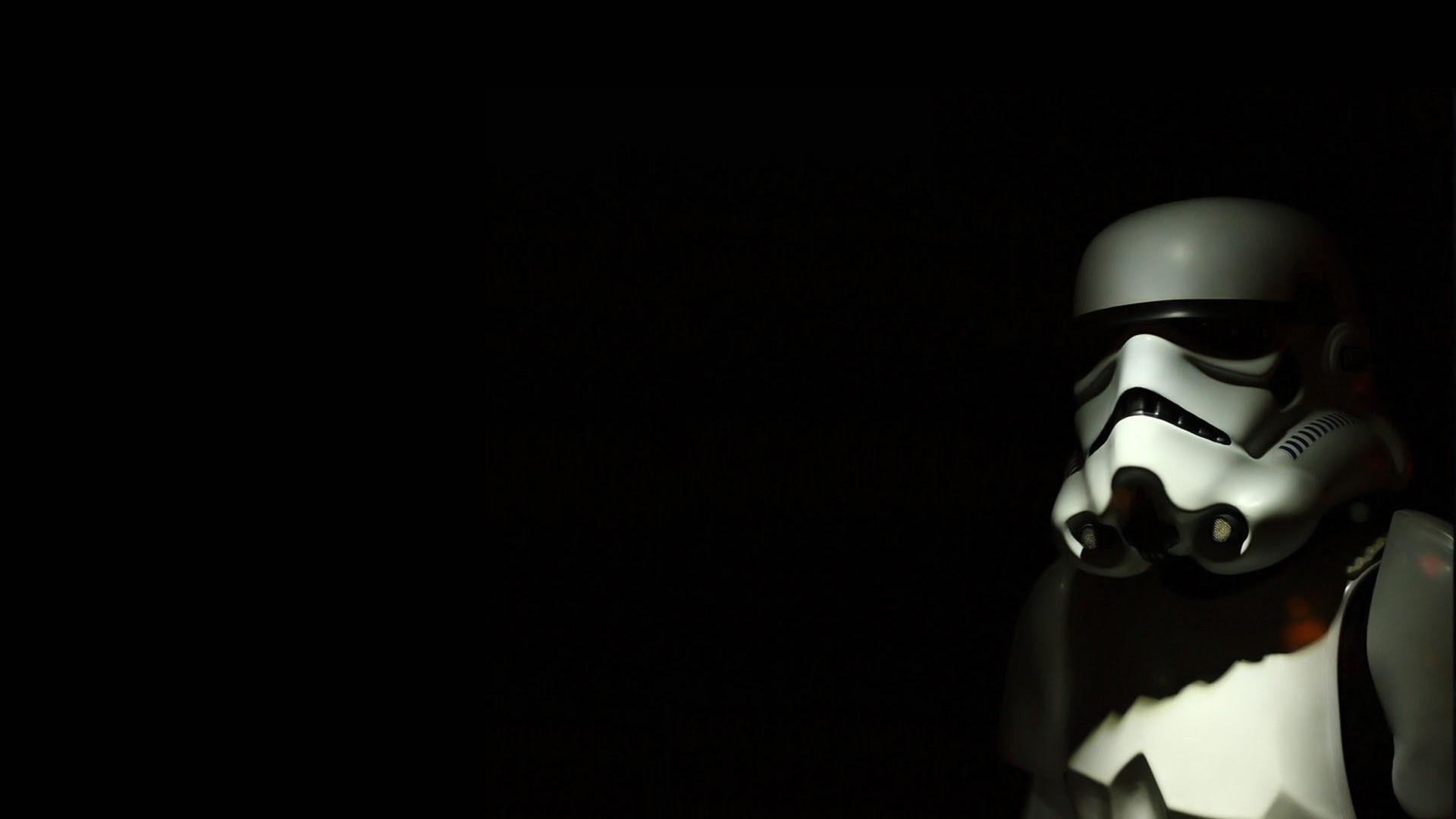 1920x1080 Star Wars, Black Background, Stormtrooper, Star Wars