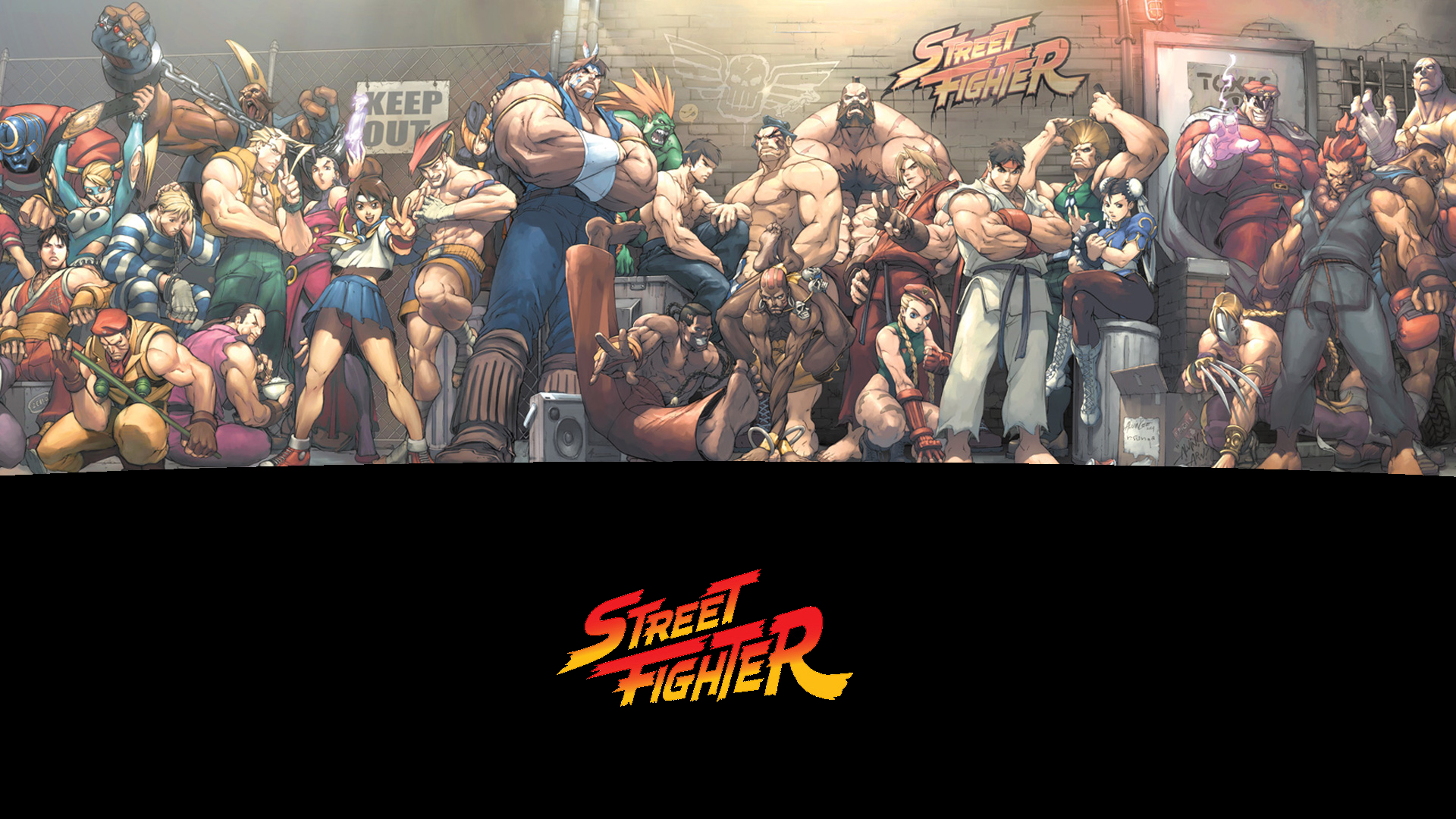Street Fighter Wallpaper Sf Wallpaper