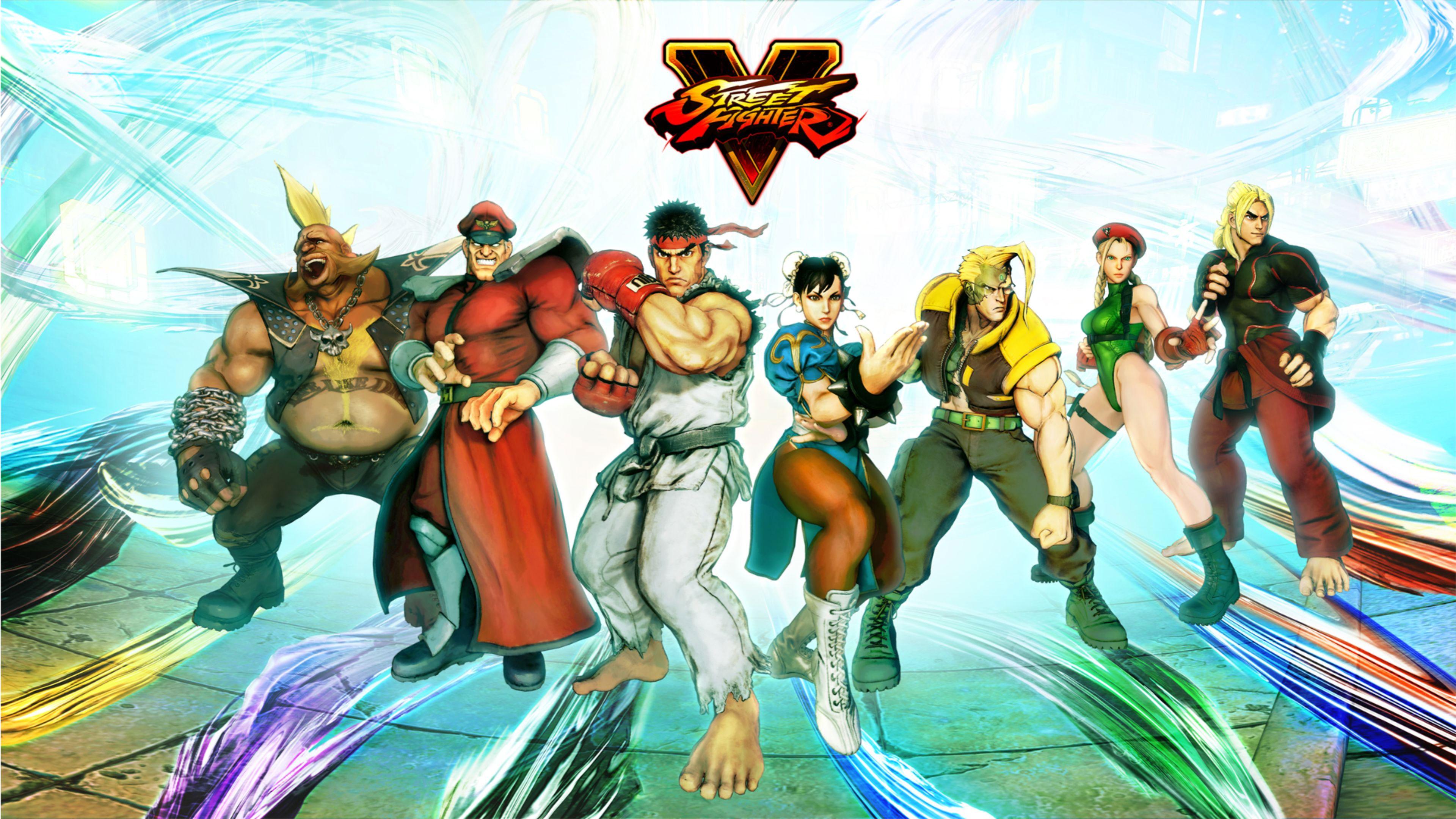 Street Fighter V Wallpapers in Ultra HD | 4K