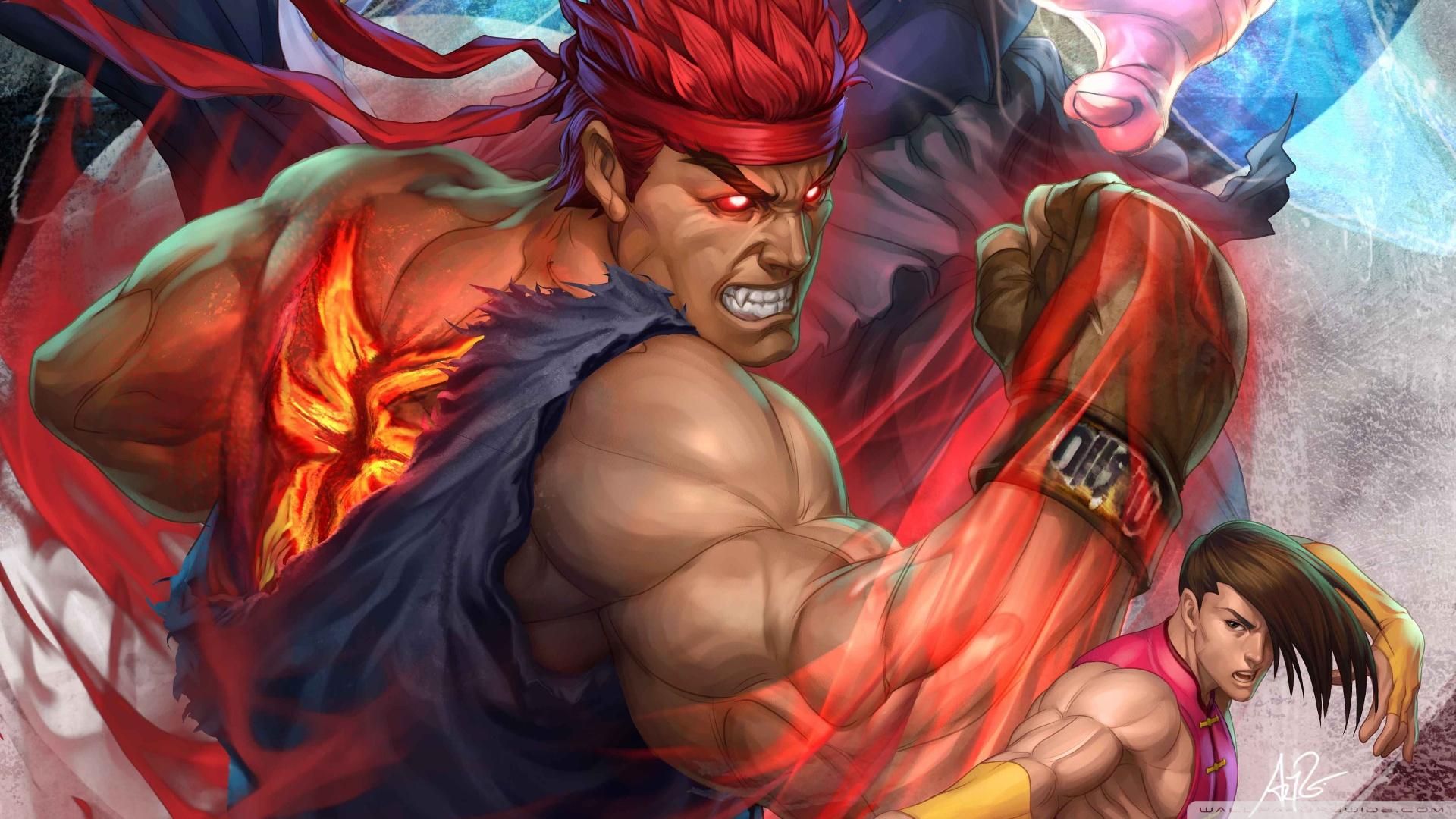 Super Street Fighter Arcade Edition HD desktop wallpaper