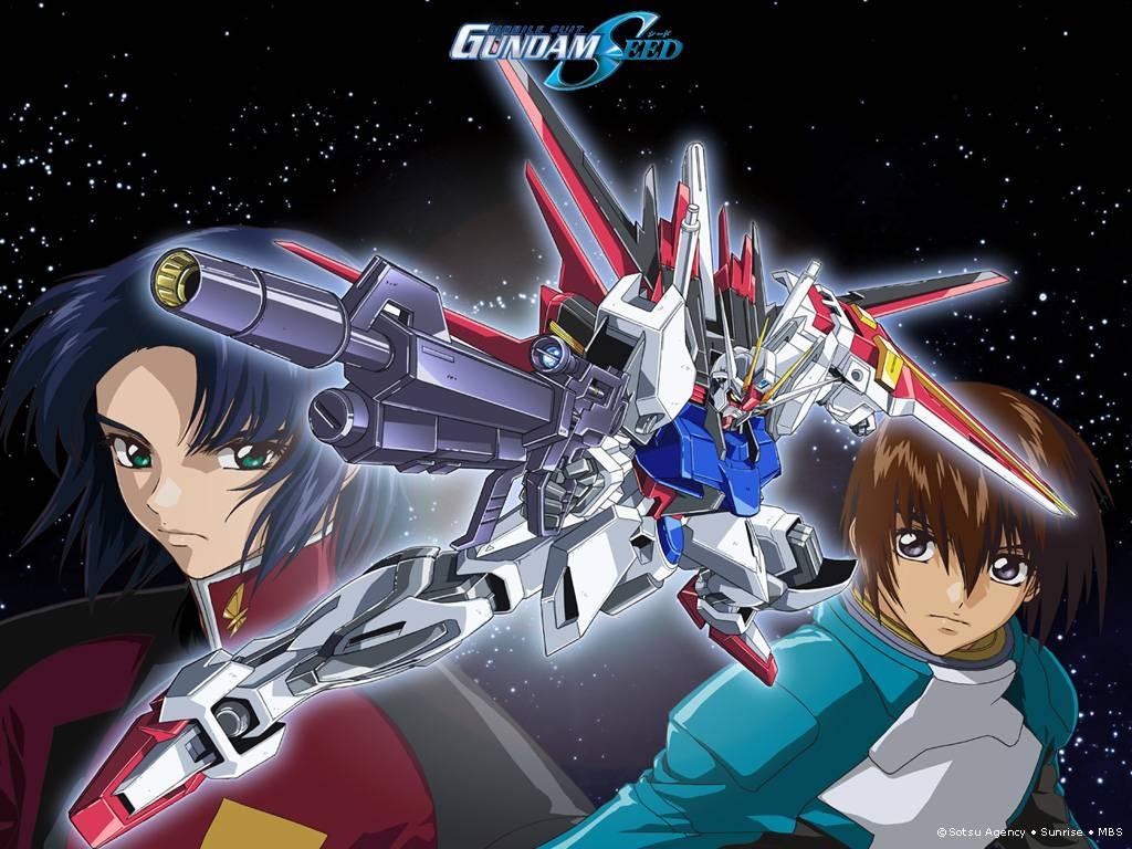 Aile Strike - Gundam Seed Wallpaper